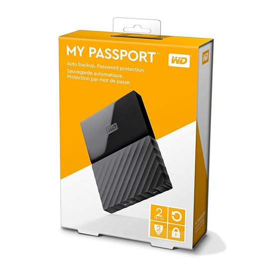 Picture of HARD DISK 4 TB MY PASSPORT BLACK WD 2.5""