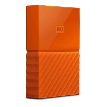 "Picture of HARD DISK 2 TB MY PASSPORT ORANGE WD 2.5"" USB 3.0"