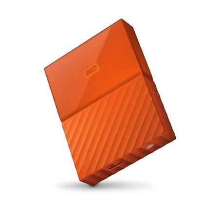 Picture of HARD DISK 1 TB MY PASSPORT ORANGE ULTRA WD