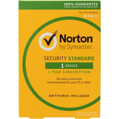 Picture of NORTON SECURITY STANDARD 1 DEVICE 1 YEAR