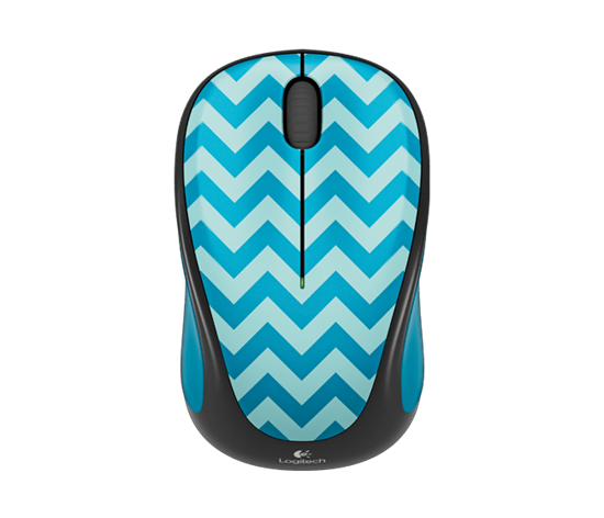 Picture of MOUSE LOGITECH M238 WRLS TEAL CHEVRON