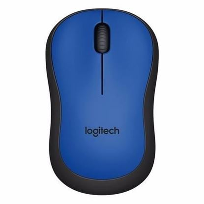 Picture of MOUSE LOGITECH WIRELESS M220 BLUE SILENT