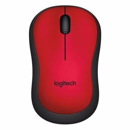Picture of MOUSE LOGITECH WIRELESS M220 RED SILENT