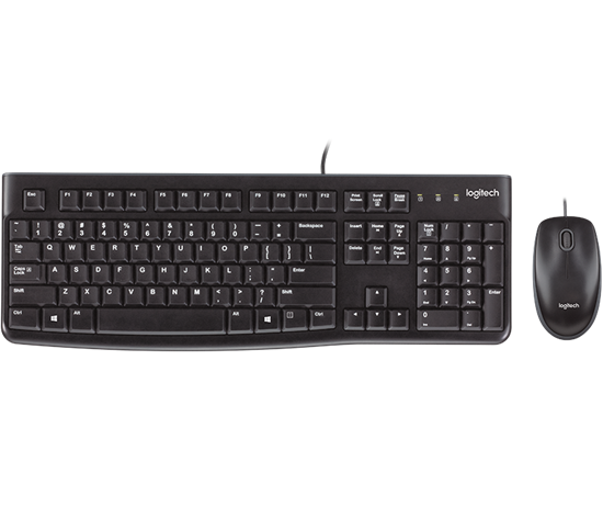 Picture of KB + MOUSE LOGITECH MK120 ENG/arabic