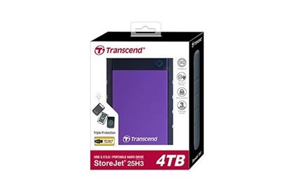 "Picture of HARD DISK 4 TB TRANSCEND 2.5"" USB 3.0 ANTI SHOCK"