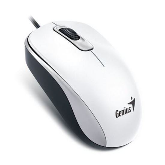 Picture of MOUSE GENIUS DX-110 USB WHITE