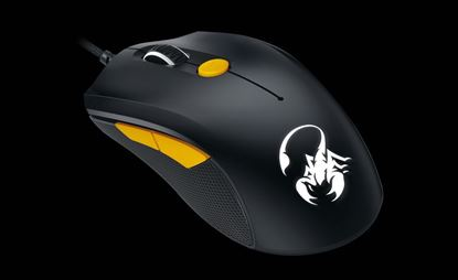 Picture of MOUSE GENIUS GAMING SCORPION BLACK+ORG M6-600