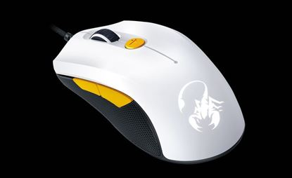 Picture of MOUSE GENIUS GAMING SCORPION WHITE+ORG M6-600