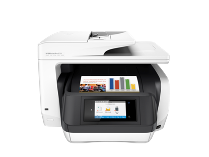 Picture of PRINTER HP 8720 OFFICEJET PRO D9L19A/4 IN 1/INK 955 WIRELESS