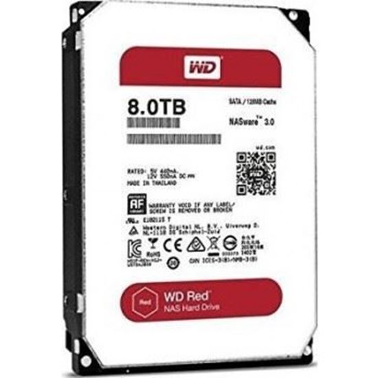 Picture of HARD DISK 8 TB SATA WD 16MB RED