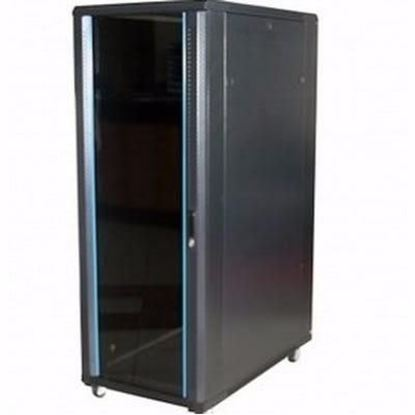 Picture of CABINET 32U W600*D800*H1600 GLASS DOOR/SIDE PANELS / FANS