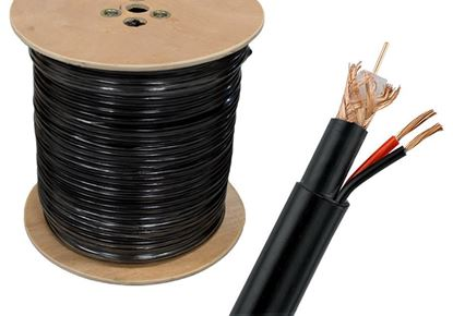 Picture of CABLE RG6 coaxial cable 300m Camera Cables