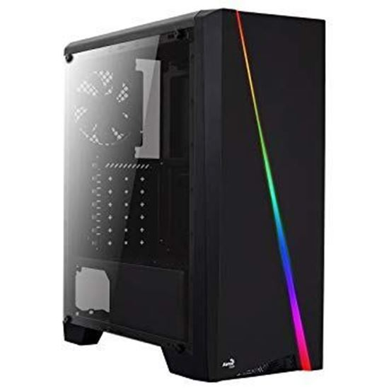 Picture of CASE AEROCOOL CYLON RGB LIGHTING MID TOWER W/FULL WINDOW