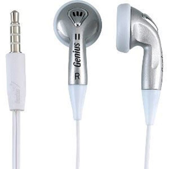 Picture of EARPHONE GENIUS GHP-02S SILVER