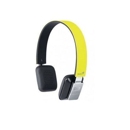 Picture of HEADPHONE GENIUS HS-920BT YELLOW SLIM GREAT FOR MUSIC AND SMARTPHONE 9HRS WORKING TIME