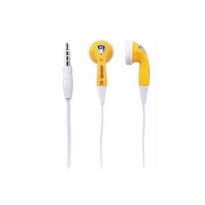 Picture of EARPHONE GENIUS GHP-02S YELLOW