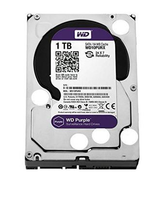 Picture of HARD DISK 1 TB SATA WD AV PURPLE