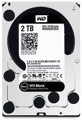 Picture of HARD DISK 2 TB SATA WD 64MB BLACK EDITION