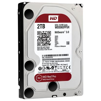 Picture of HARD DISK 2 TB SATA WD 64MB RED