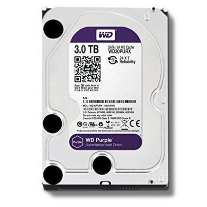 Picture of HARD DISK 3 TB SATA WD PURPLE 6GB
