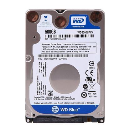 "Picture of HARD DISK 500 GB 2.5"" SATA WD"