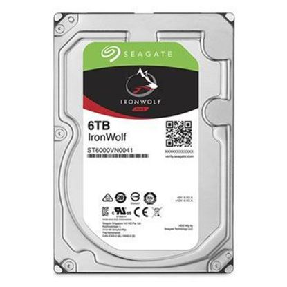 Picture of HARD DISK 6 TB SATA ST6000VN0041 IRONWOLF 7200 128MB SATA SEAGATE