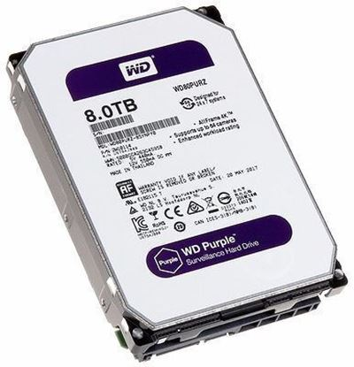 Picture of HARD DISK 8 TB SATA WD 16MB PURPLE