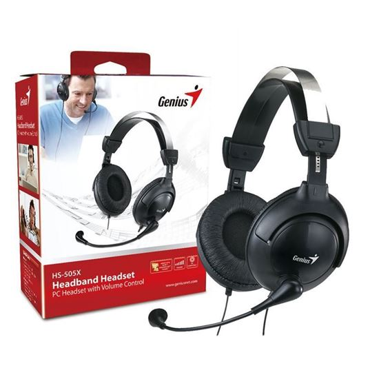Picture of HEADPHONE GENIUS HS-M505X+ MIC