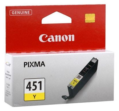 Picture of INK CANON CLI-451 YELLOW