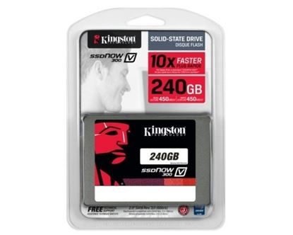 Picture of SSD 240 GB KINGSTON 10X FASTER