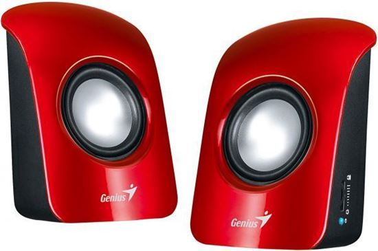 Picture of SPEAKER GENIUS SP-U115 RED