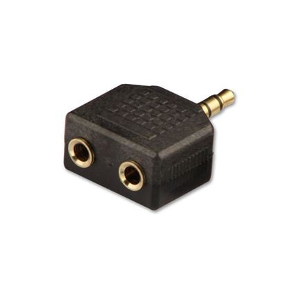 Picture of VCOM 3.5ST M/2*3.5STF ADAPTOR STEREO 1M 2F