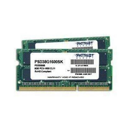 Picture of RAM 4 GB DDR3 SODIMM PATRIOT 1600 LAPTOP PC3-12800