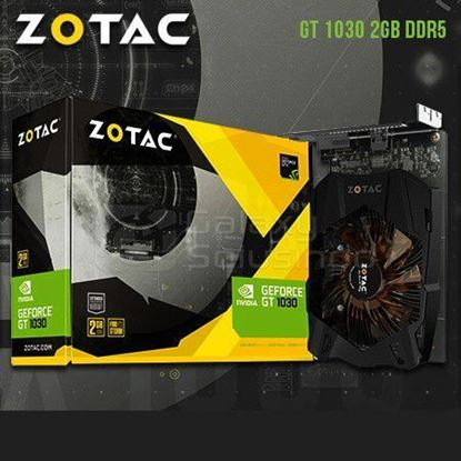 Picture of VGA ZOTAC GEFORCE GT1030 2GB DDR5