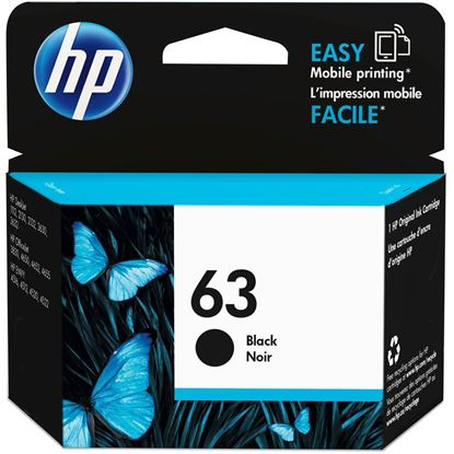 Picture of INK HP 63 BLACK