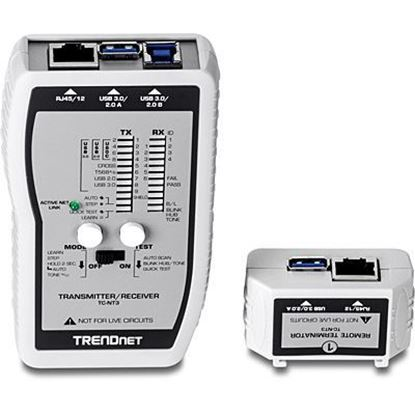 Picture of TESTER TRENDNET TC-NT3 VDV USB +VOICE GENE CABLE TESTER