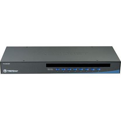 Picture of KVM SWITCH TK-803R 8 PORT USB/PS2