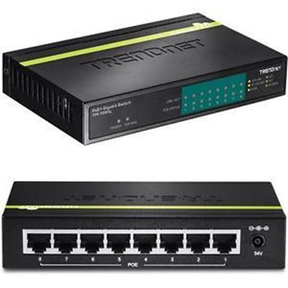 Picture of POE SWITCH TPE-TG80G 8-PORT GREENET GIG POE+ 30W / PORT