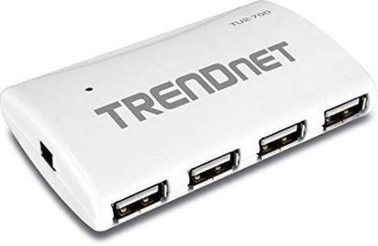 Picture of USB HUB TU2-700 TRENDNET USB2.0 7 PORTS W / POWER