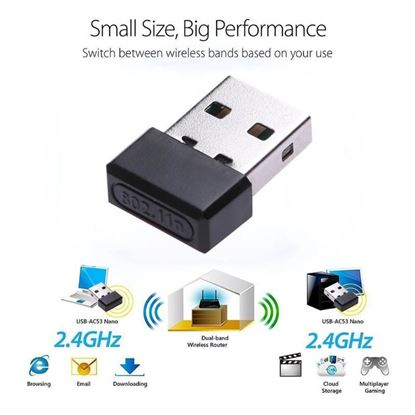 Picture of 880000G WIRELESS USB ADAPTOR 54MBS / 16DB
