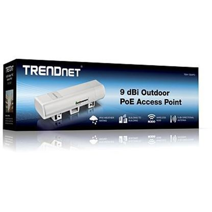Picture of ACCESS POINT P2P OUTDOOR TEW-730APO POE