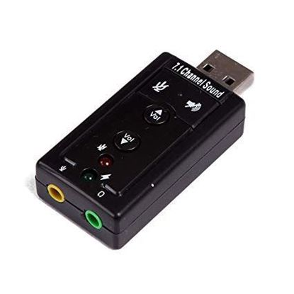 Picture of USB TO AUDIO ADAPTER SOUND CARD 7.1