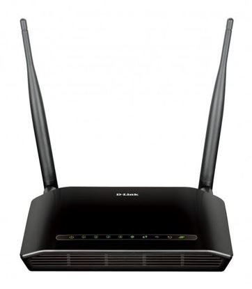 Picture of MODEM ROUTER DLINK WIRELESS ADSL2/2 + N300 4 PORTS