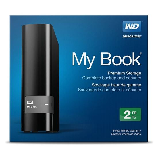 Picture of HARD DISK 2 TB MY BOOK  EDITION USB 3.0