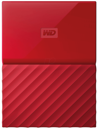"Picture of HARD DISK 2 TB MY PASSPORT RED WD 2.5"" USB 3.0"