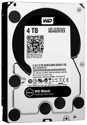 Picture of HARD DISK 4 TB SATA WD 64MB BLACK EDITION