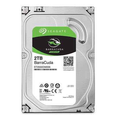 Picture of HARD DISK 2 TB SATA ST2000DM006 BARRACUDA GUARDIAN SEAGATE SATA 3.5""