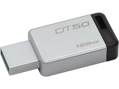 Picture of USB FLASH 128 GB KINGSTON DATA TRAVELER 50 USB3.0  DT50/128GB