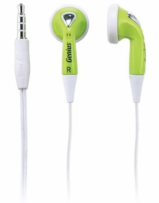 Picture of EARPHONE GENIUS GHP-200X GREEN