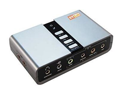 Picture of SOUND CARD USB M-330  STLAB 7.1 USB TO SOUND EXTERNAL